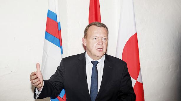 Løkke bakker op om færøsk selvstændighed under OL