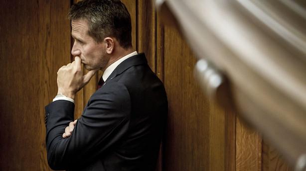 Finansminister Kristian Jensen er frustreret: Vi har brugt tid på de forkerte reformer