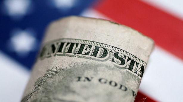 Valuta: Stærk dollar sender euro i torvene