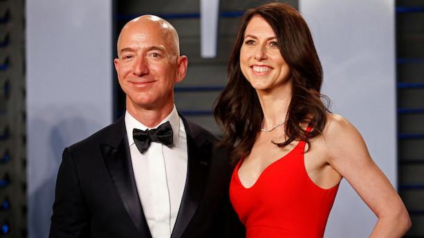 Historiens dyreste skilsmisse: Bezos' eks får 239 milliarder