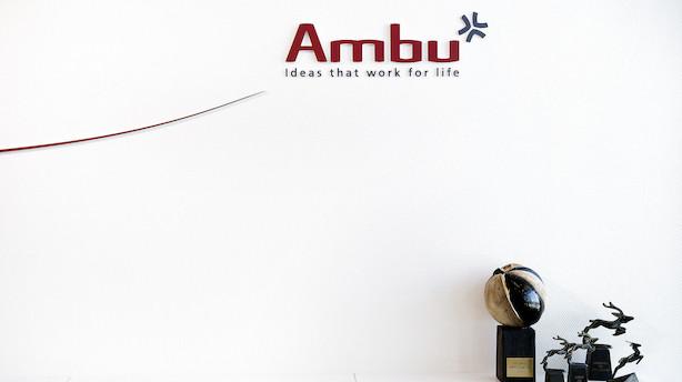 Aktier i Europa: Ambu tog toppen i grønne aktiemarkeder