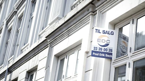 """De store prisstigninger i København er sat på hold: """"Euforien har lagt sig"""""""