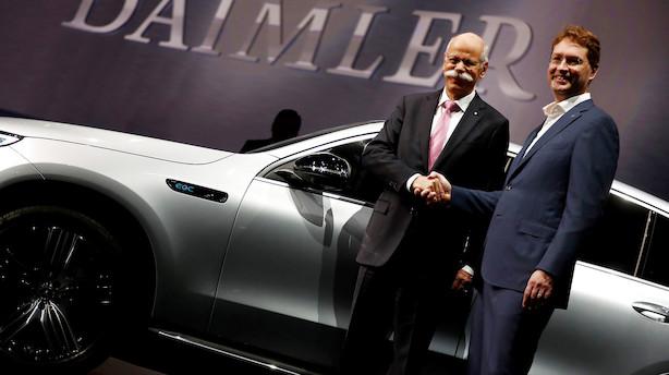 Daimler nedjusterer: Dieselgate og udgift til defekte airbags koster