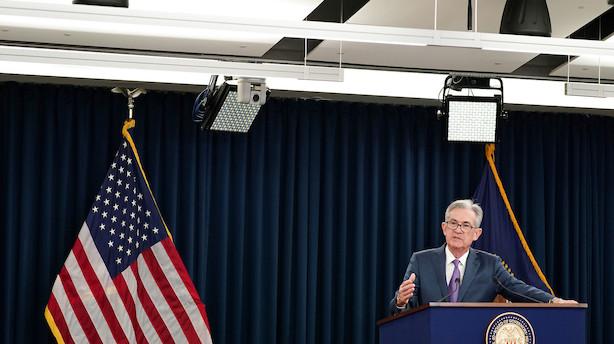Powell åbner for ny rentenedsættelse til september – har intet svar på handelskrigen mellem USA og Kina