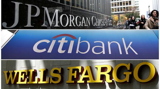 Amerikanske bankers regnskaber vil pege begge veje