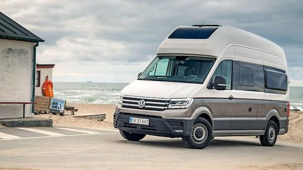 Volkswagens nye autocamper er GIGANTISK