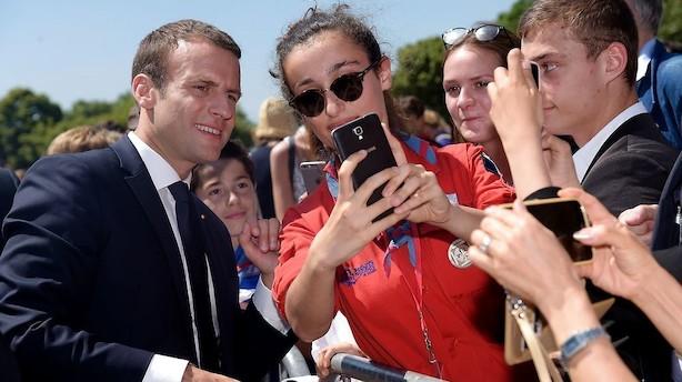 Valgdeltagelsen er i bund ved fransk parlamentsvalg