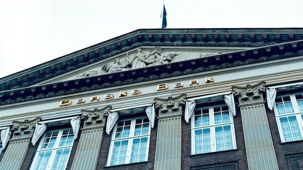 Tysk storbank anbefaler salg af Danske Bank-aktier