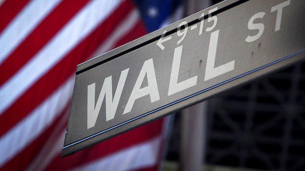 Markedet åbner i USA: Indleder store bankdag med negativ undertone
