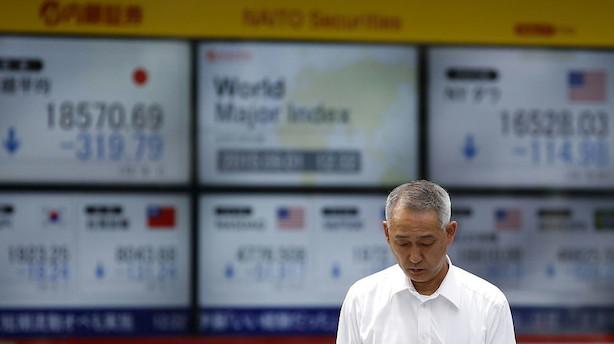 Aktier: Asiatiske markeder falder på frygt for protektionisme