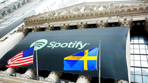 Investerede i Spotify i 2008 - aktier er nu 25 gange mere værd