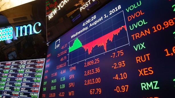 Amerikanske investorer sender penge i sikker havn
