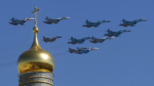 Ruslands forsvarsminister: Vi har fået ny slagkraft - 1000 nye russiske krigsfly på få år