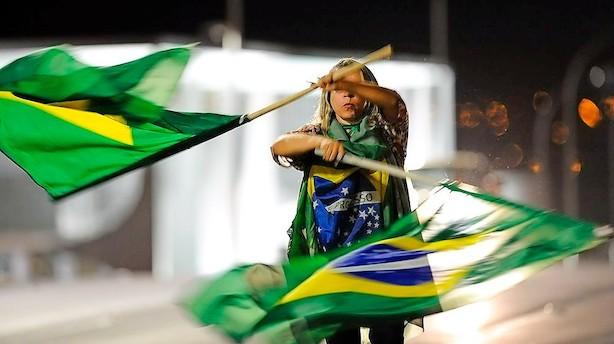Brasiliens senat: Ja til rigsretssag mod præsident