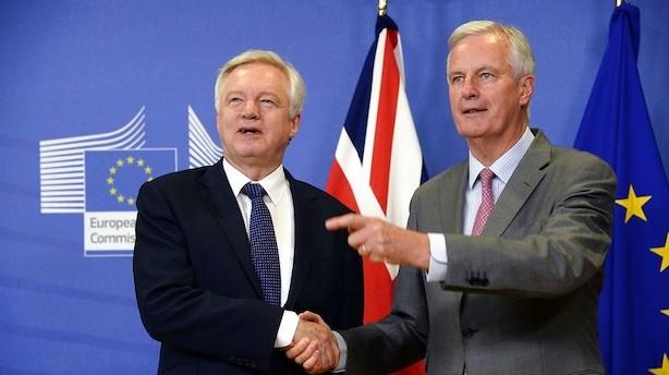 Brexitforhandlere: Nu går vi i gang med sagens kerne