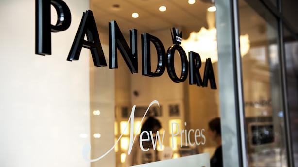 Pandora: Amerikanere øger endnu engang short-position