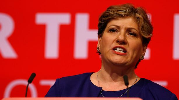 Labour vil ikke støtte Mays brexitaftale