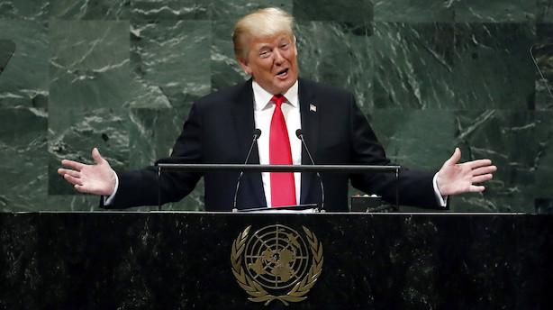 Løkke: Nedslående Trump-tale med fravær af ledelse