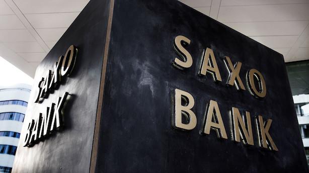 Saxo Bank på direktørjagt: Kaprer ny global finansdirektør hos dansk servicegigant