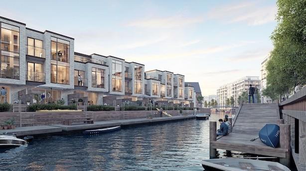 """Privat luksus-ø i Sydhavnen til halv milliard trodser bolig-afmatning: """"Der er ikke noget sammenligneligt i Danmark"""""""