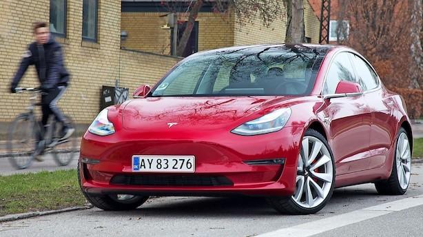 Første danske test af Tesla Model 3: Fremtiden er landet