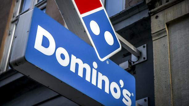 Domino's Pizza drejer nøglen om i Danmark