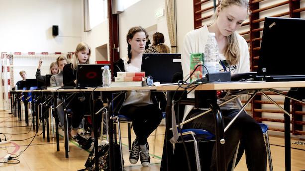 Ministerium skal få bedre styr på afgangsprøver i 9. klasse