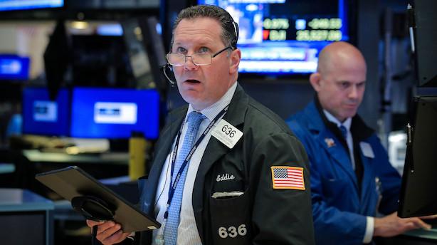 Aktiestatus i USA: Frygt for teknologisk konflikt trækker it-aktier ned