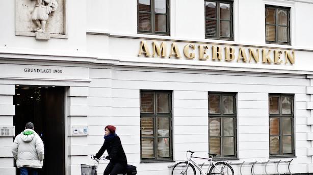 Dagen efter millionforlig i Amagerbanken: Nu er pengene tikket ind på kontoen