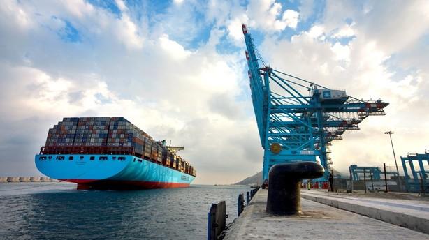 Maersk Line vippet af rettidig førsteplads
