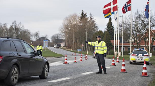 Grænsekontrol: Fortsat højt asyltal på tredjedagen