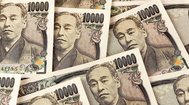 Valuta: Japansk yen belejres efter ny usikkerhed