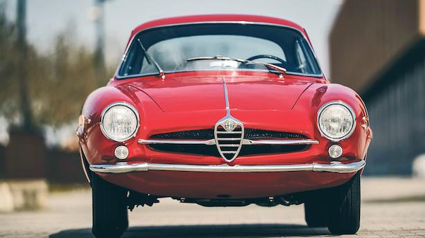 Uhørt hurtig i 1960erne - Klassisk Alfa Romeo handlet lige under millionen
