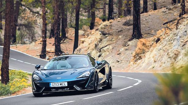 Ny McLaren er en gentleman med superkræfter