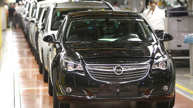 Peugeot køber Opel i milliardhandel