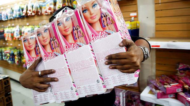 USA: Barbie-selskab falder tungt i fladt marked