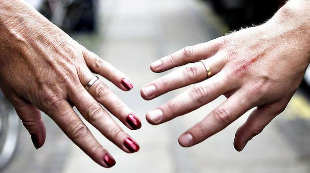 Lyn-skilsmisser giver staten tocifret millongevinst