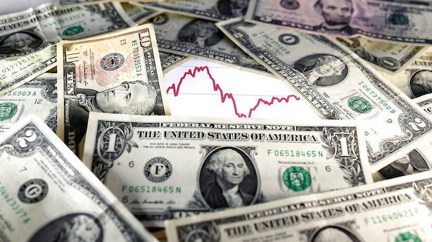 Valuta: Yen styrkes mens euro sendes i baggrunden