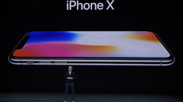 Wall Street åbner med nye hug til Apple efter lancering