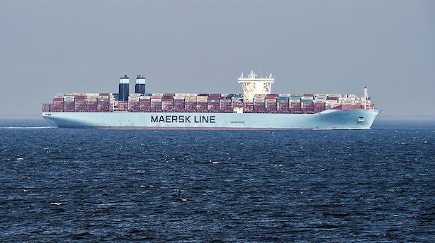 Mærsk: Usædvanligt stærkt marked giver flere små skibe i drift