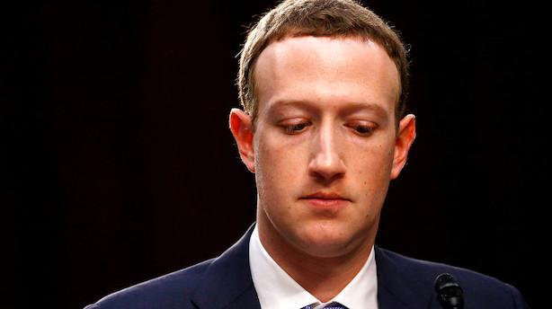 Facebook-boss makker ret: Kommer til høring i Europa-Parlamentet