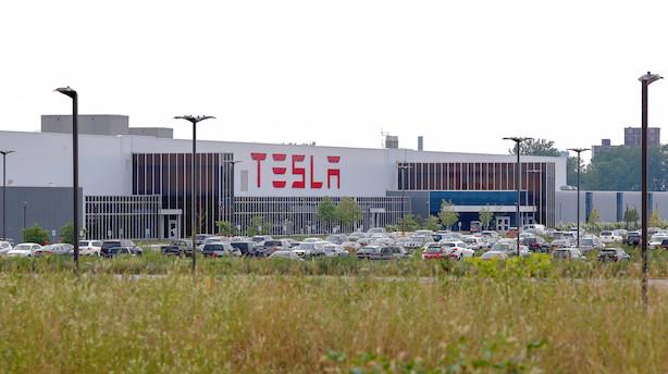Aktier: Nordstrom steg, mens Tesla kørte nedad i positivt USA-marked
