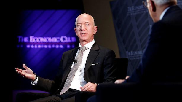 """Amazon-boss går i kødet på Trump: """"Stor fejl at gå i krig mod medierne"""""""