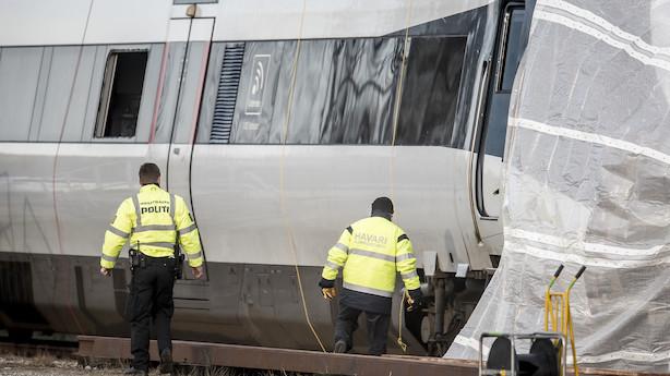 Havarikommission: Flere trailere på ulykkestog sad løst