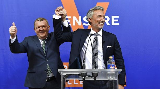 Storsejr til V: Bliver største danske parti i Europa