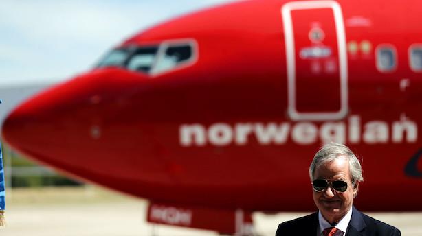 Norwegian lancerer kreditkort i USA til 1,4 mio fordelskunder