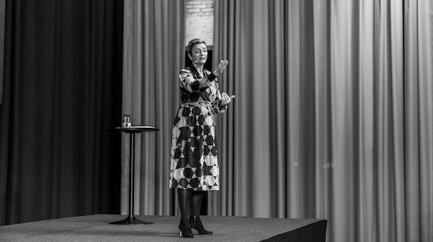 """Vestager svarer igen på kritik fra Mærsk-topchef: """"Jeg tror ikke på, at den der lever stille, lever godt"""""""