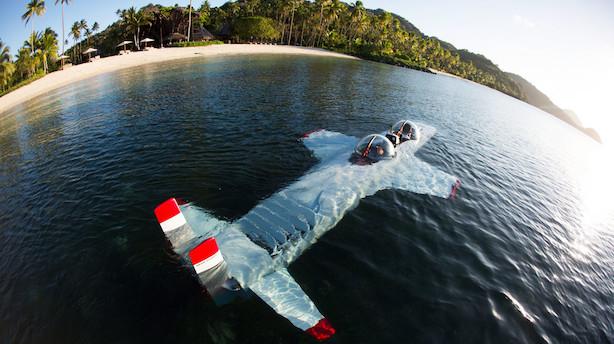 """""""Var det her nu også en god idé?"""" - I Red Bull-milliardærens undervandsfly"""