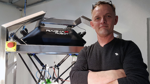 Nordjyde opfinder superrobotten Ragner - nu henter han tocifret millionbeløb
