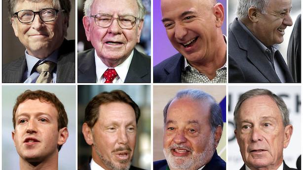 Verdens rigeste taber 234 milliarder efter Trump-kaos